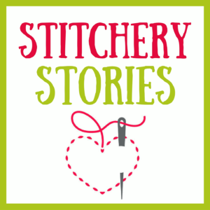 stitchery stories textile art podcast artwork
