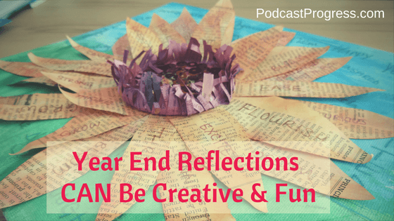 blog post image: Year End Reflections Can Be Creative And Fun