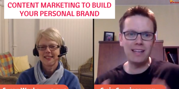 Content marketing to build your personal brand
